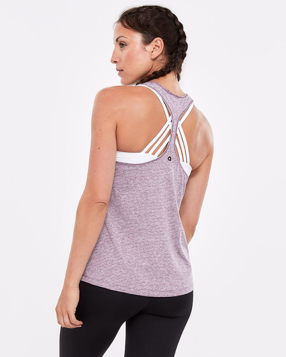Hyba Striped Bra Tank