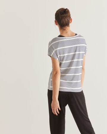 Hyba Knotted Reversible Tee