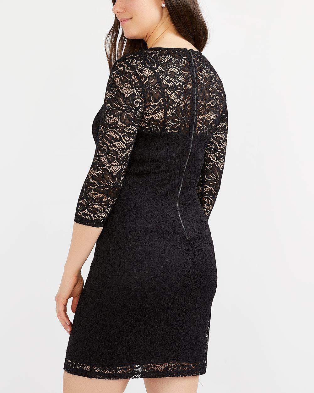 a99ba1c37a17 Lace Bodycon Dress