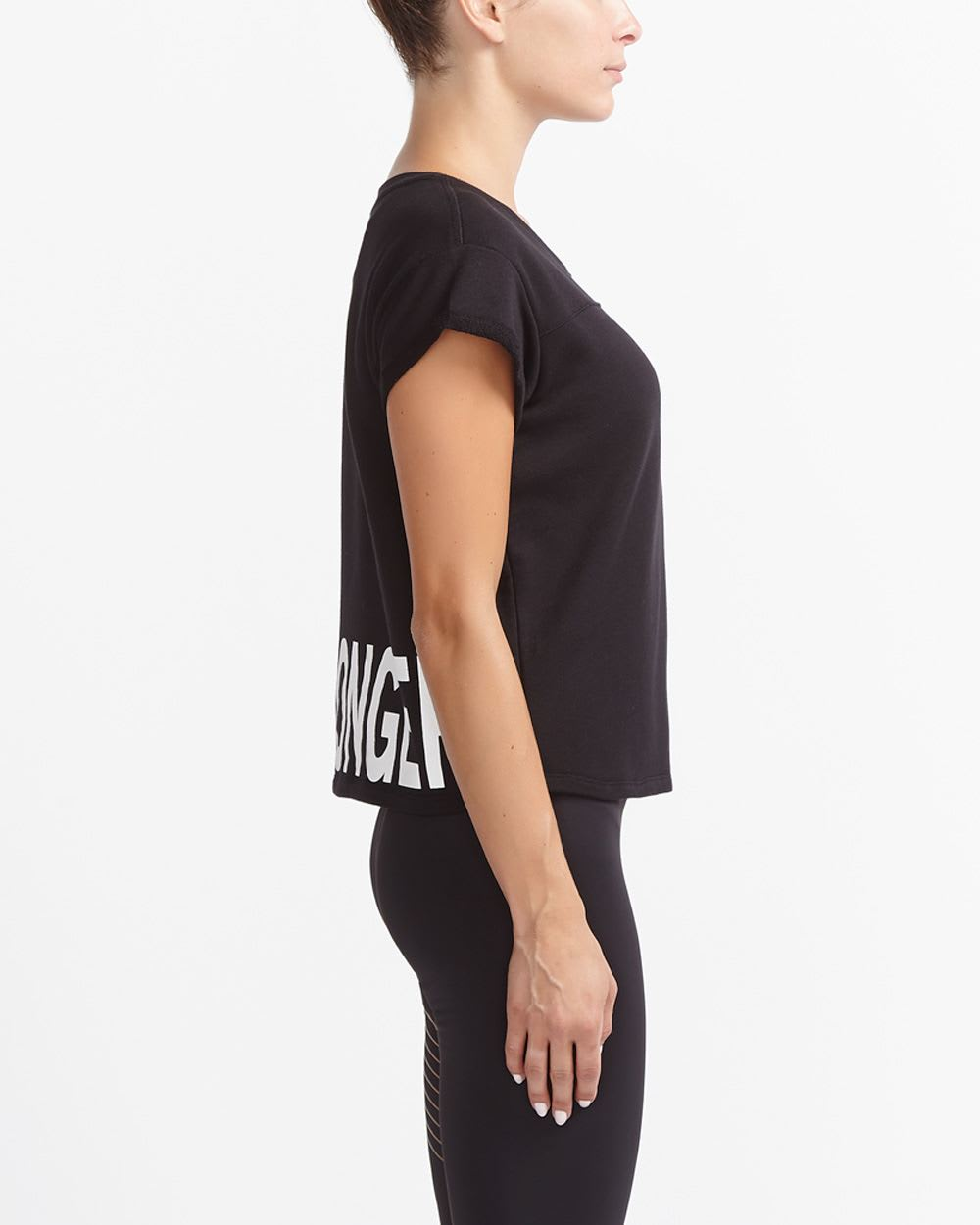 Hyba Cropped Training T-Shirt