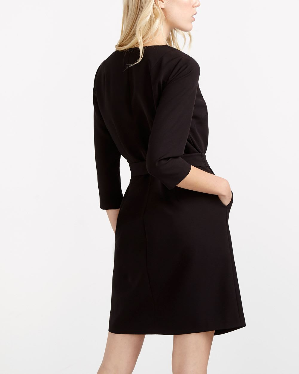 Willow & Thread ¾ Sleeve Wrap Dress