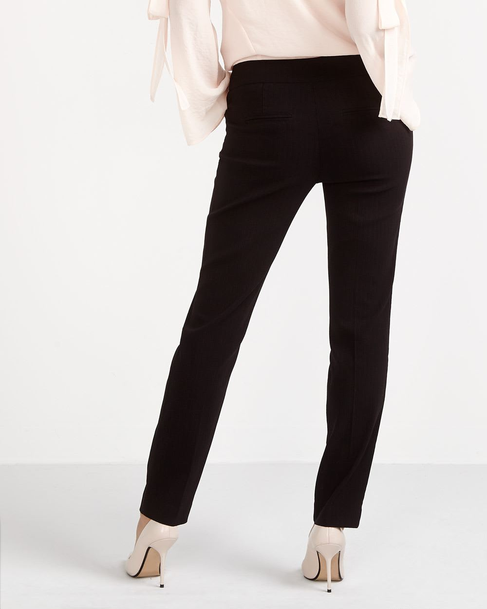 The Petite Iconic Pattern Straight Leg Pants