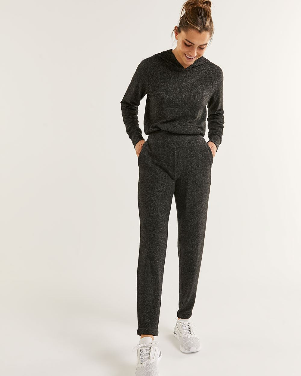 Brushed Knit Jogger Pants Hyba