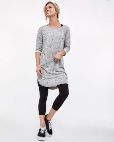 Hyba 3/4 Sleeve French Terry Dress