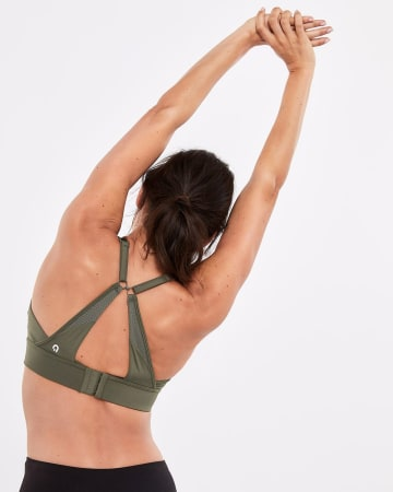 Hyba Solid High-Support Sports Bra