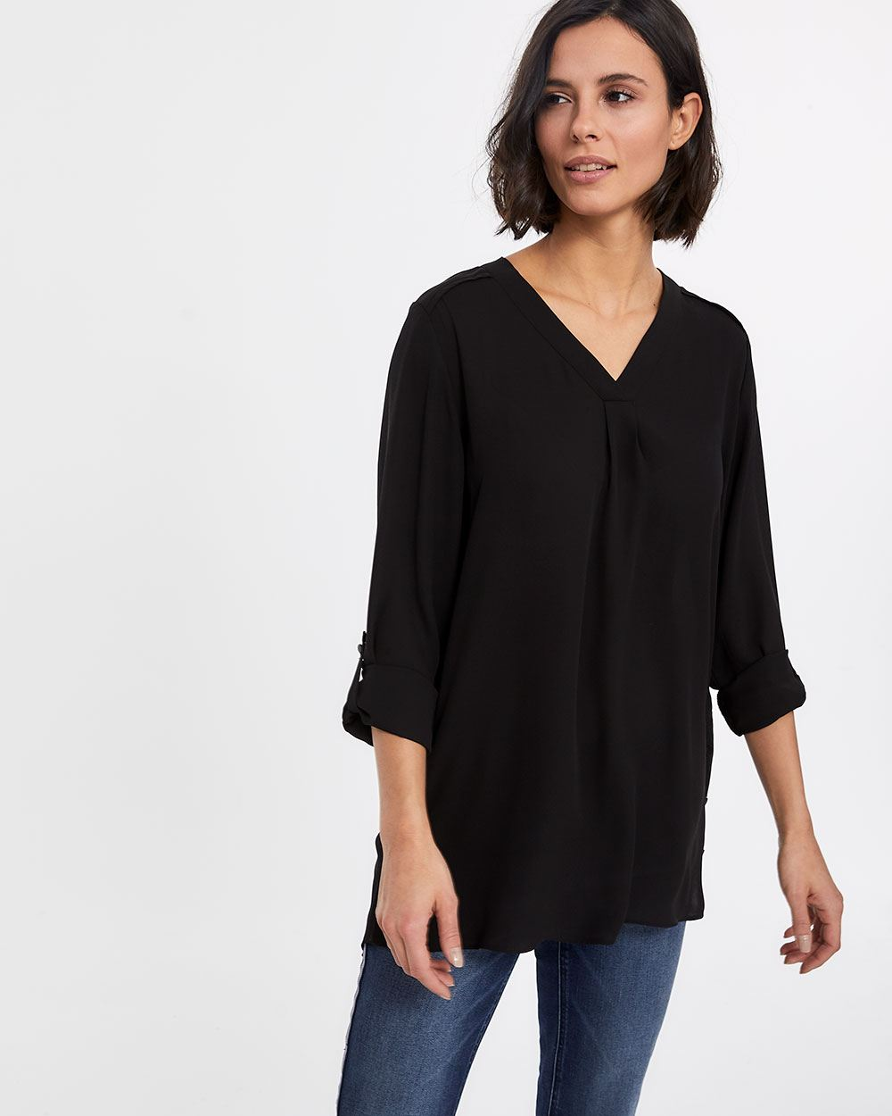 Snap Buttons Tunic
