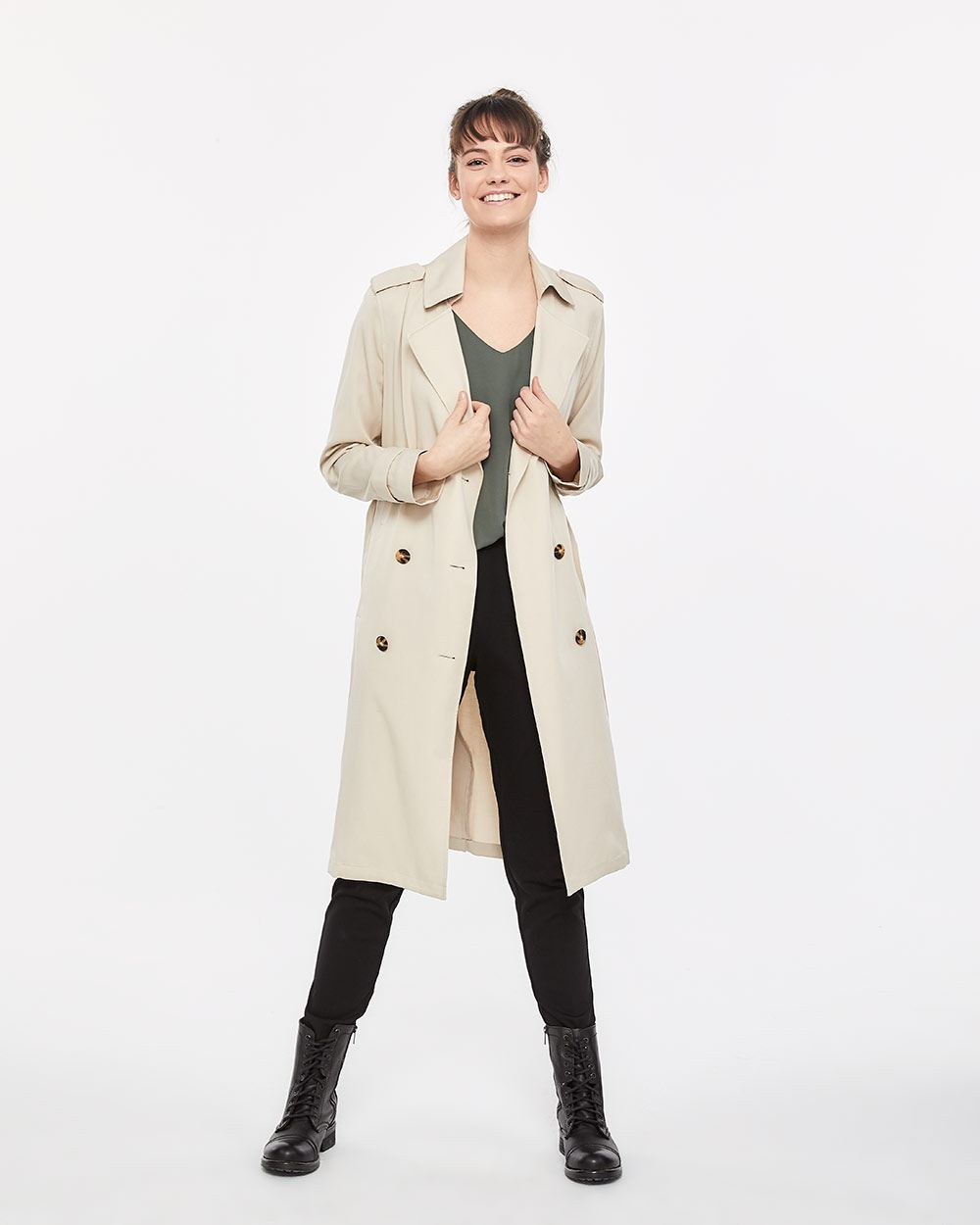 d09c1ecdf1 Soft and Light Trench Coat