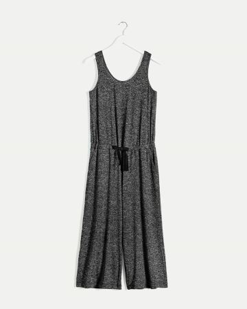 Cropped Wide Leg Jumpsuit with Pockets Hyba