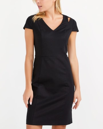 Willow & Thread Cotton Blend Sheath Dress