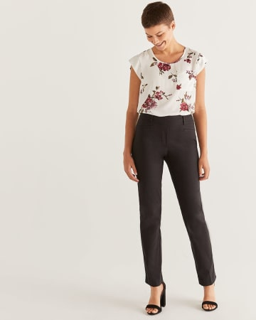 Pantalon droit L'Iconique - Long