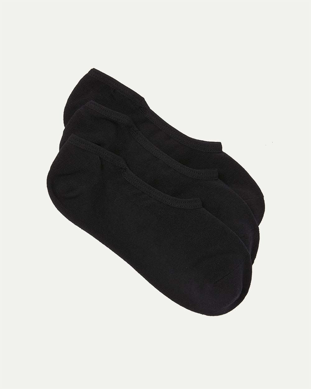 3-Pack No-Show Socks