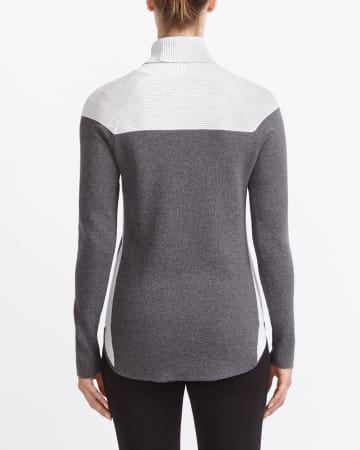 Hyba Colourblock Knit Sweater