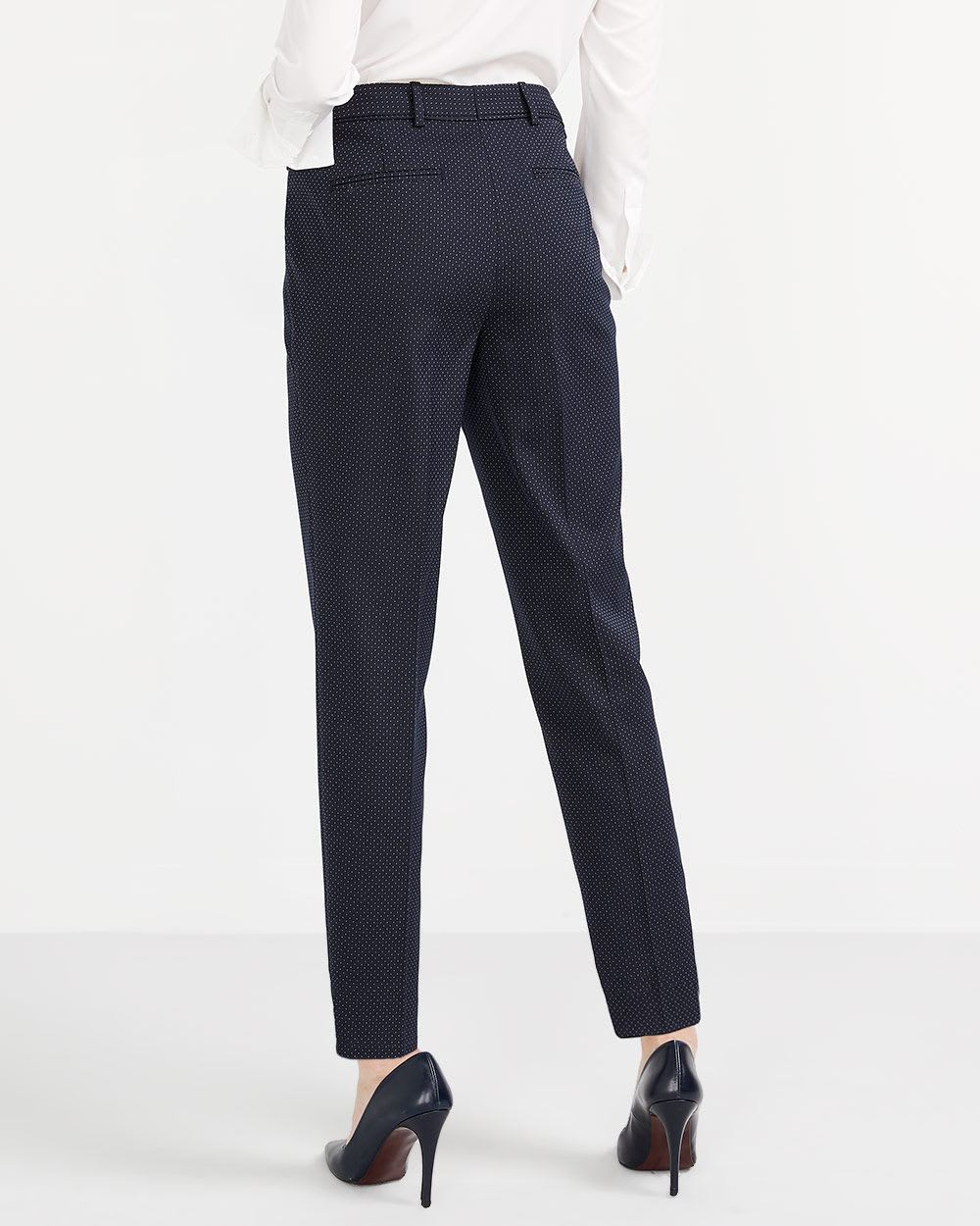 Willow & Thread Polka Dot Tailored Pants