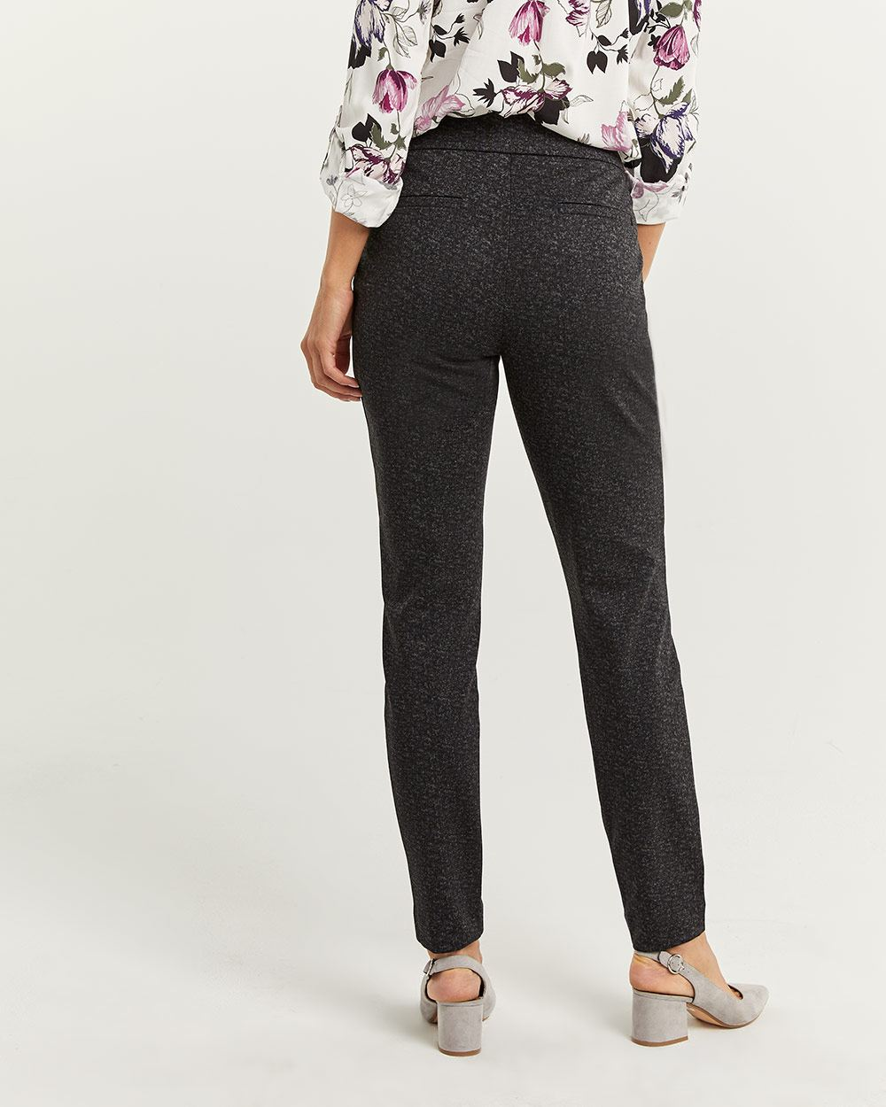 The Modern Stretch Patterned Leggings - Petite