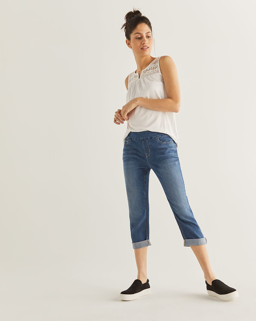 The Original Comfort Capri Skinny Jeans
