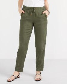 Tall Pull-On Straight Leg Pants