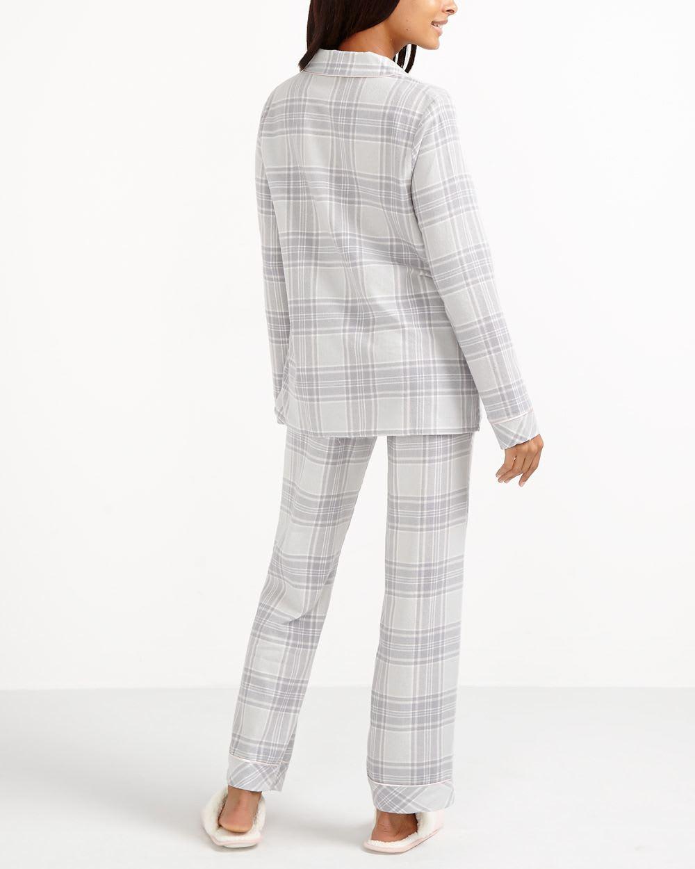 Ensemble pyjama carreaux deluxe femmes reitmans for Pyjama a carreaux