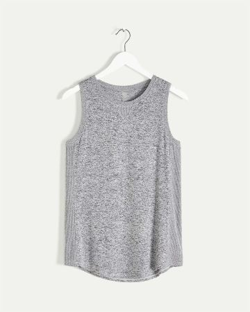Crew Neck Ribbed Tank Hyba