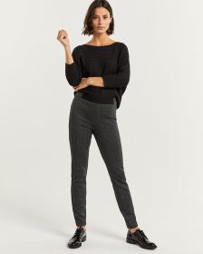 Herringbone Jacquard Leggings - Tall