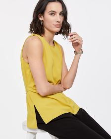Willow & Thread Sleeveless Blouse with Sash
