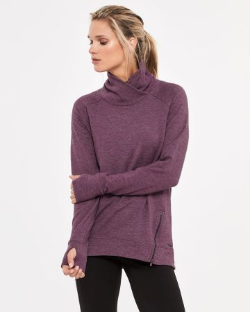 Hyba Crossover Neck Sweater
