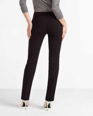 The Petite Iconic Straight Leg Striped Pants