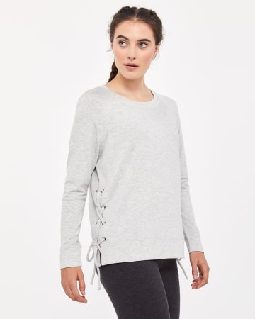 Hyba Sweater with Lattice Details
