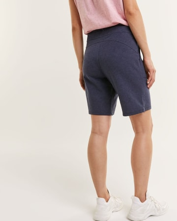 French Terry Slim Bermudas with Pockets Hyba