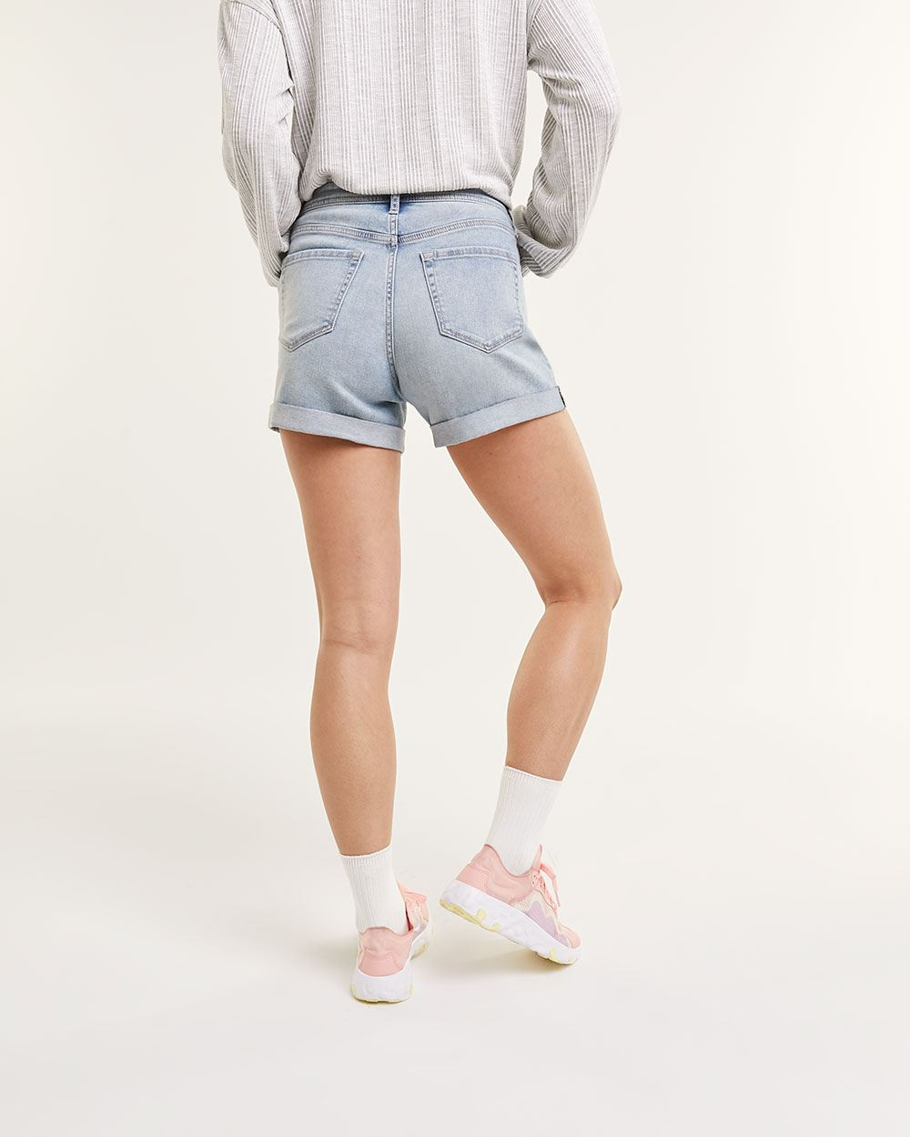 Light Wash Jeans Shorts