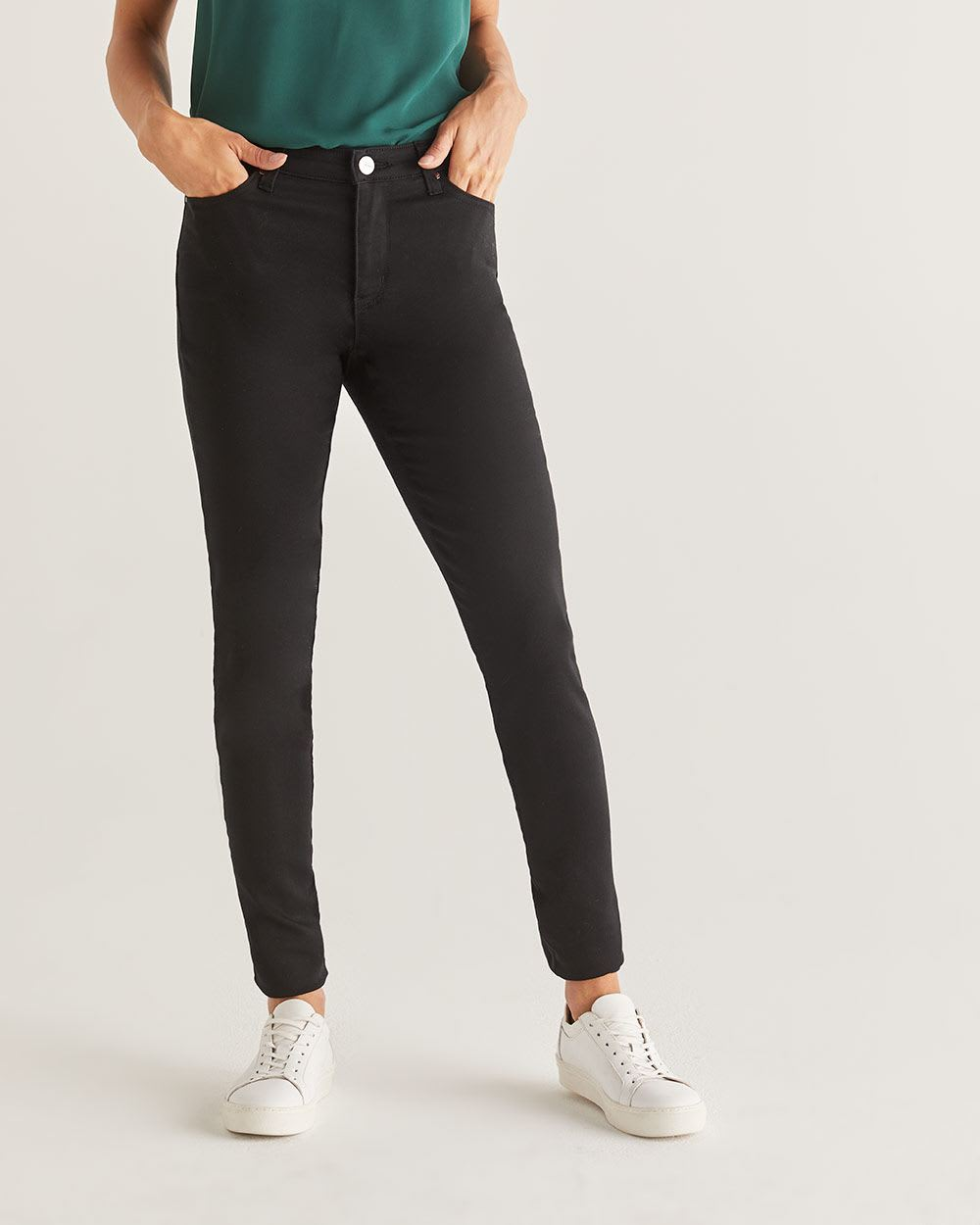 The Tall Sculpting Black Skinny Jeans