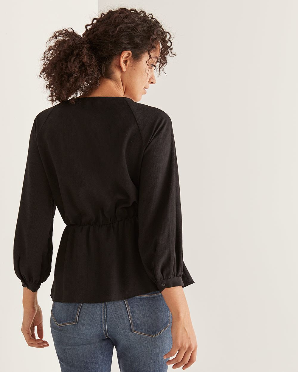 Cinched Waist Blouse