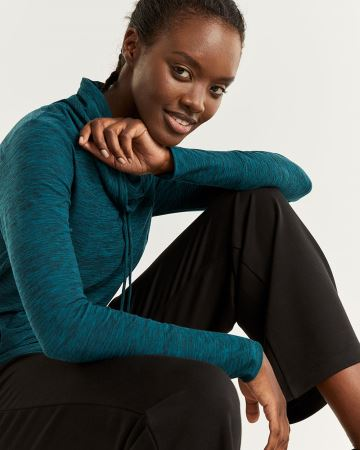 Hyba Ultra Soft Cowl Neck Sweatshirt