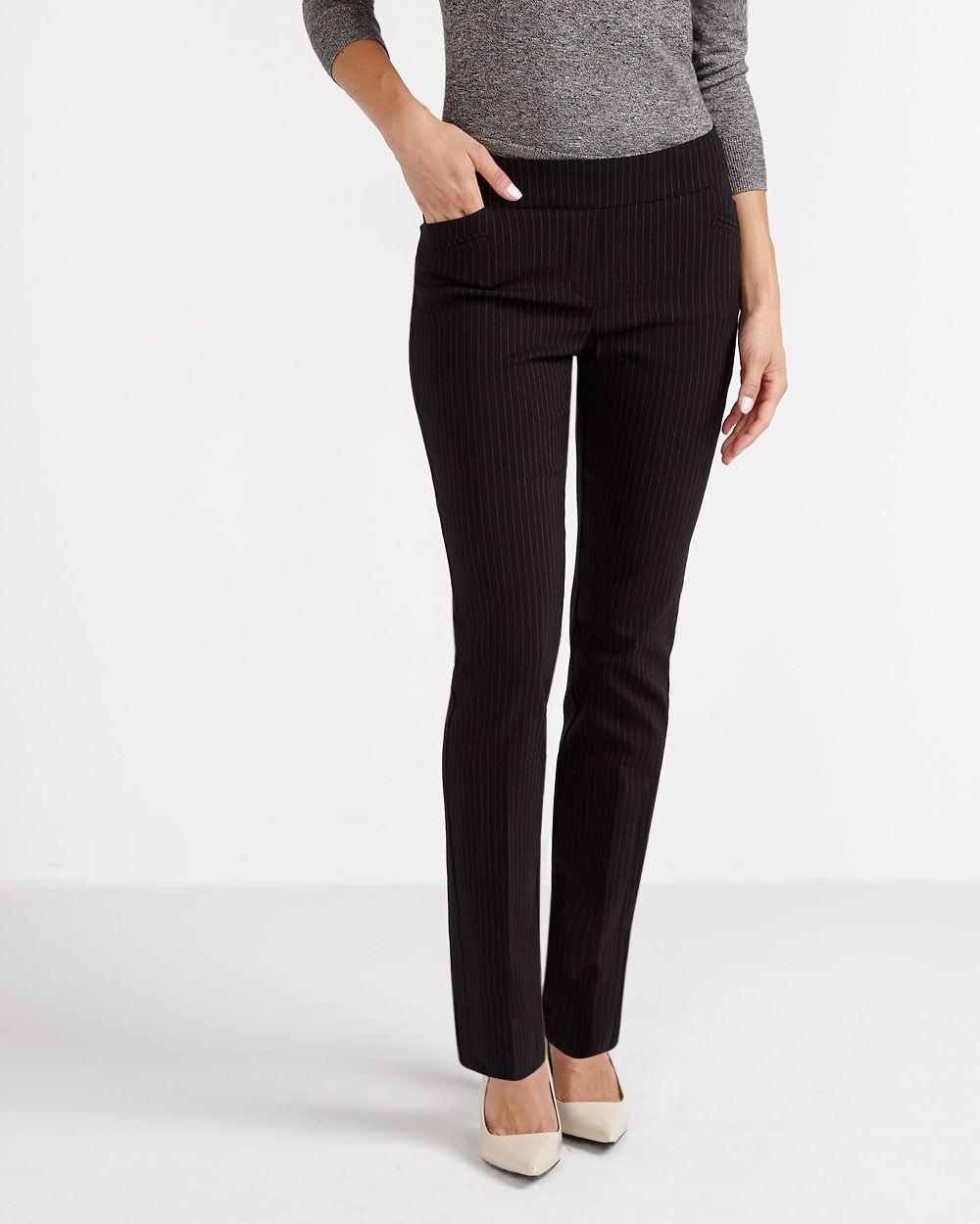 pantalon nylon avec talons aiguilles