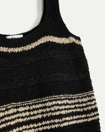 Knitted Striped Tank Top