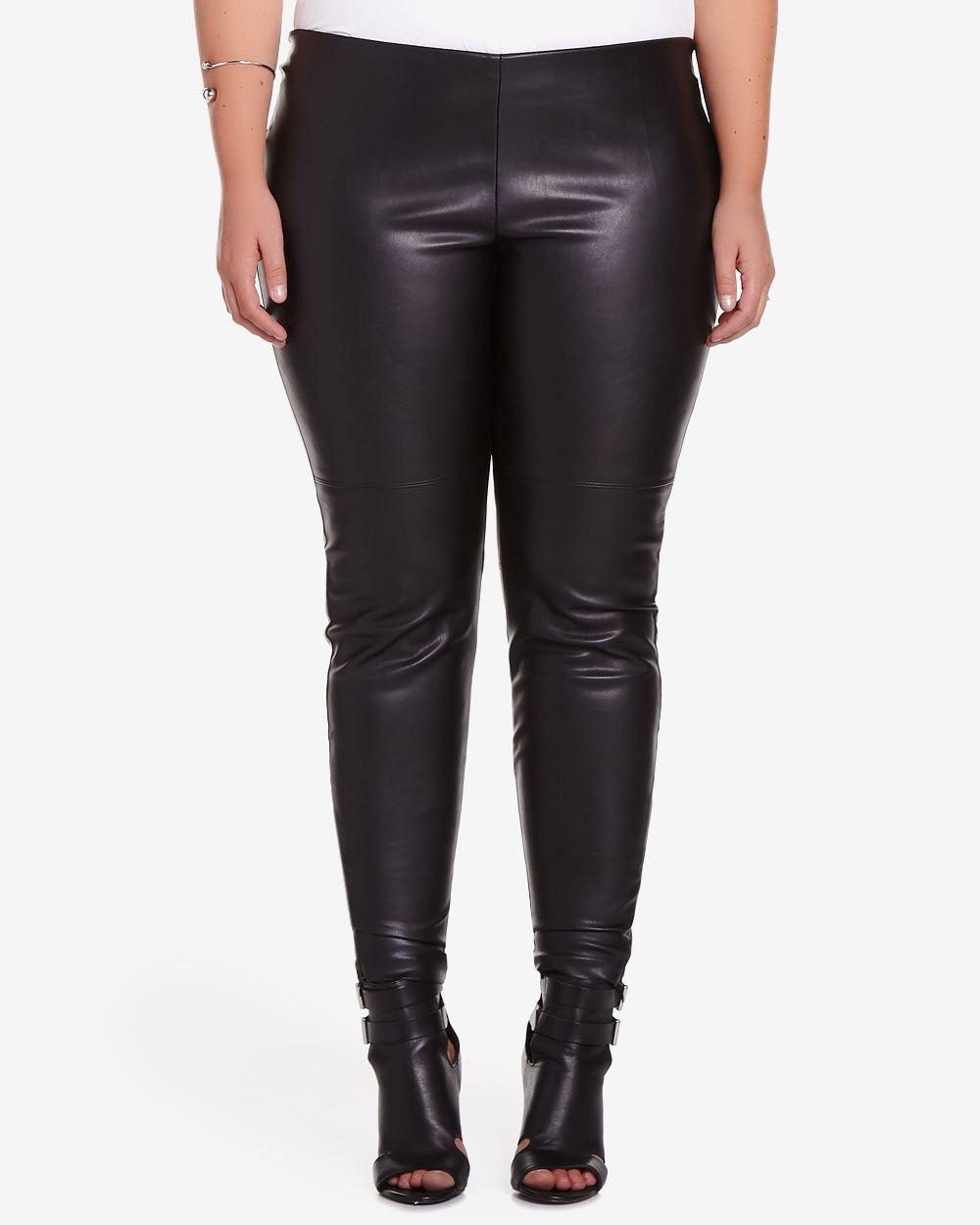 Plus Size Faux Leather Leggings | Plus Sizes | Reitmans