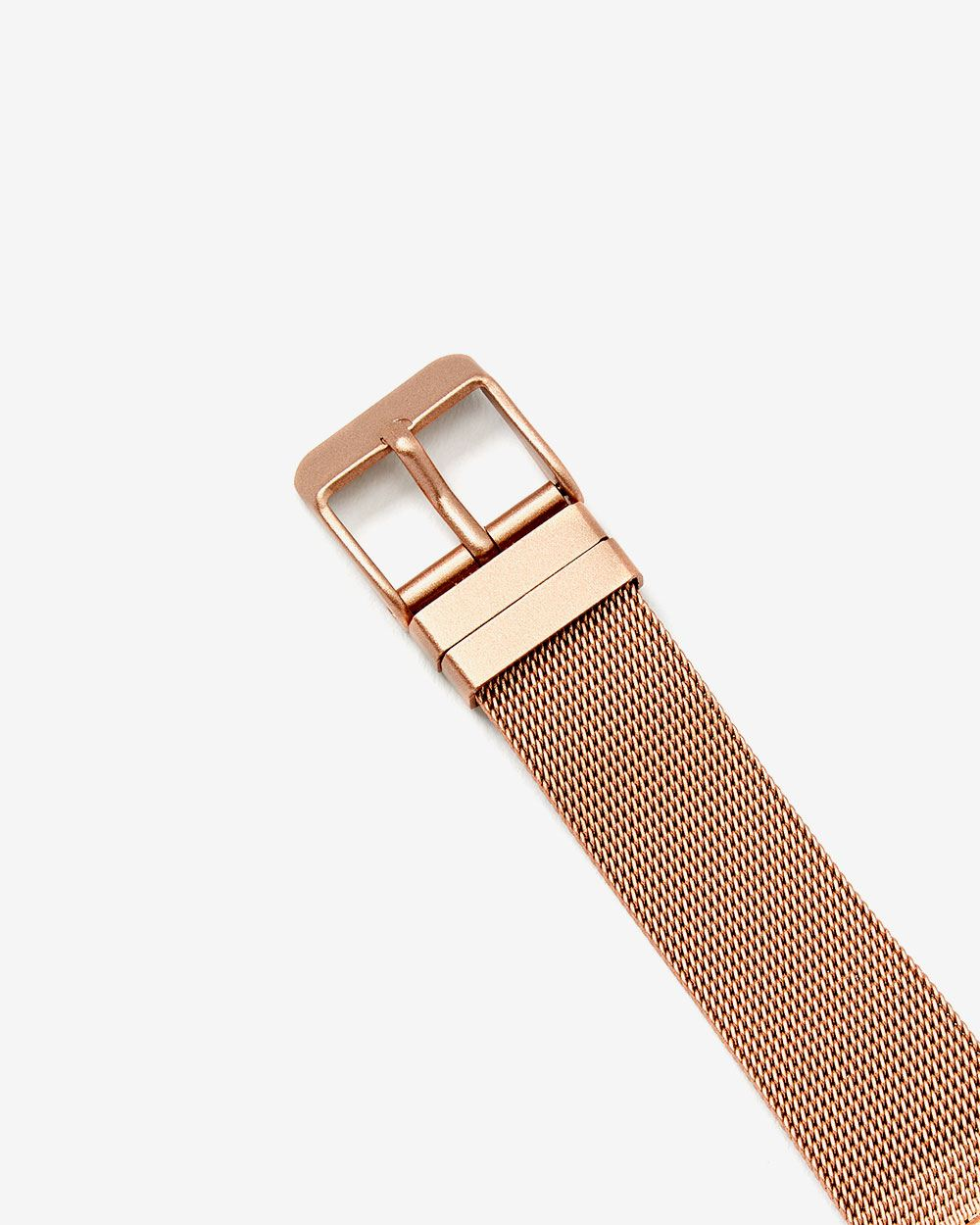 Mother of Pearl Mesh Wristband Watch