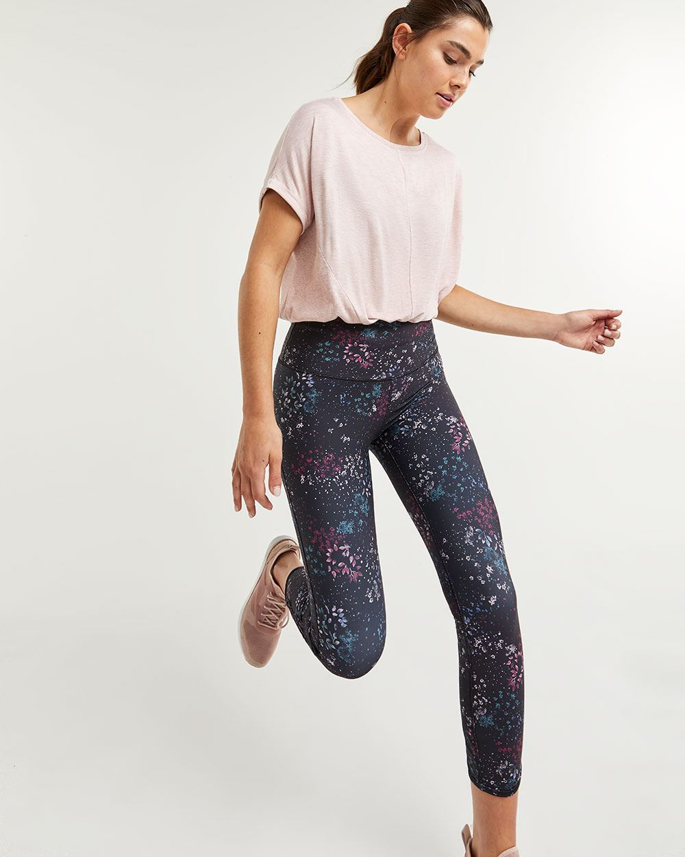 Printed Cropped Leggings Hyba