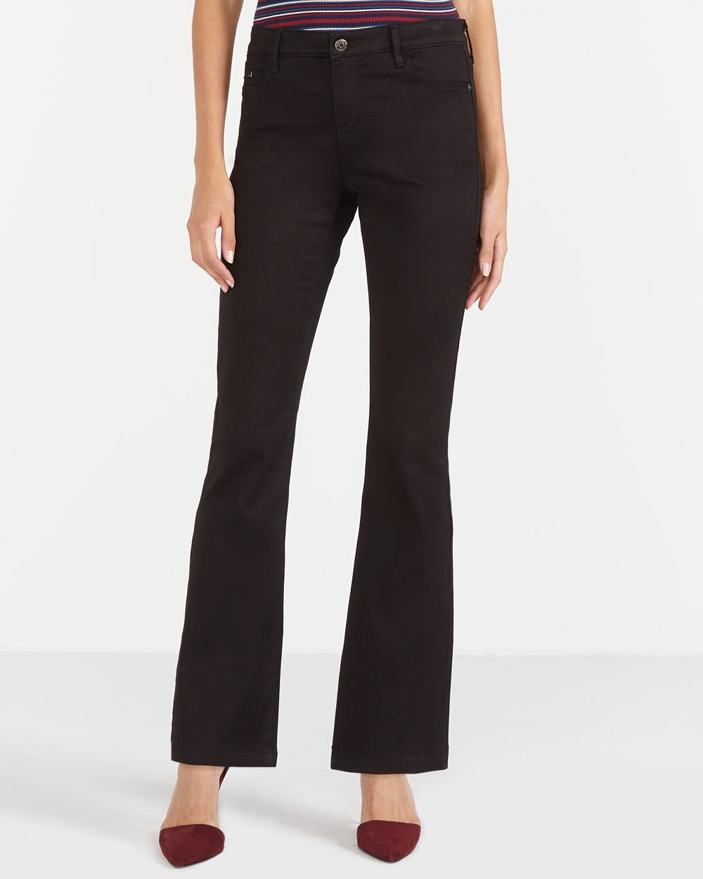 The Petite Signature Soft Boot Cut Jeans