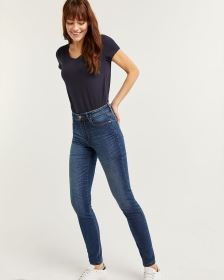 The Tall Sculpting Medium Wash Skinny Jeans