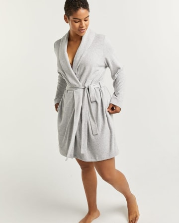 Soft Robe with Pockets