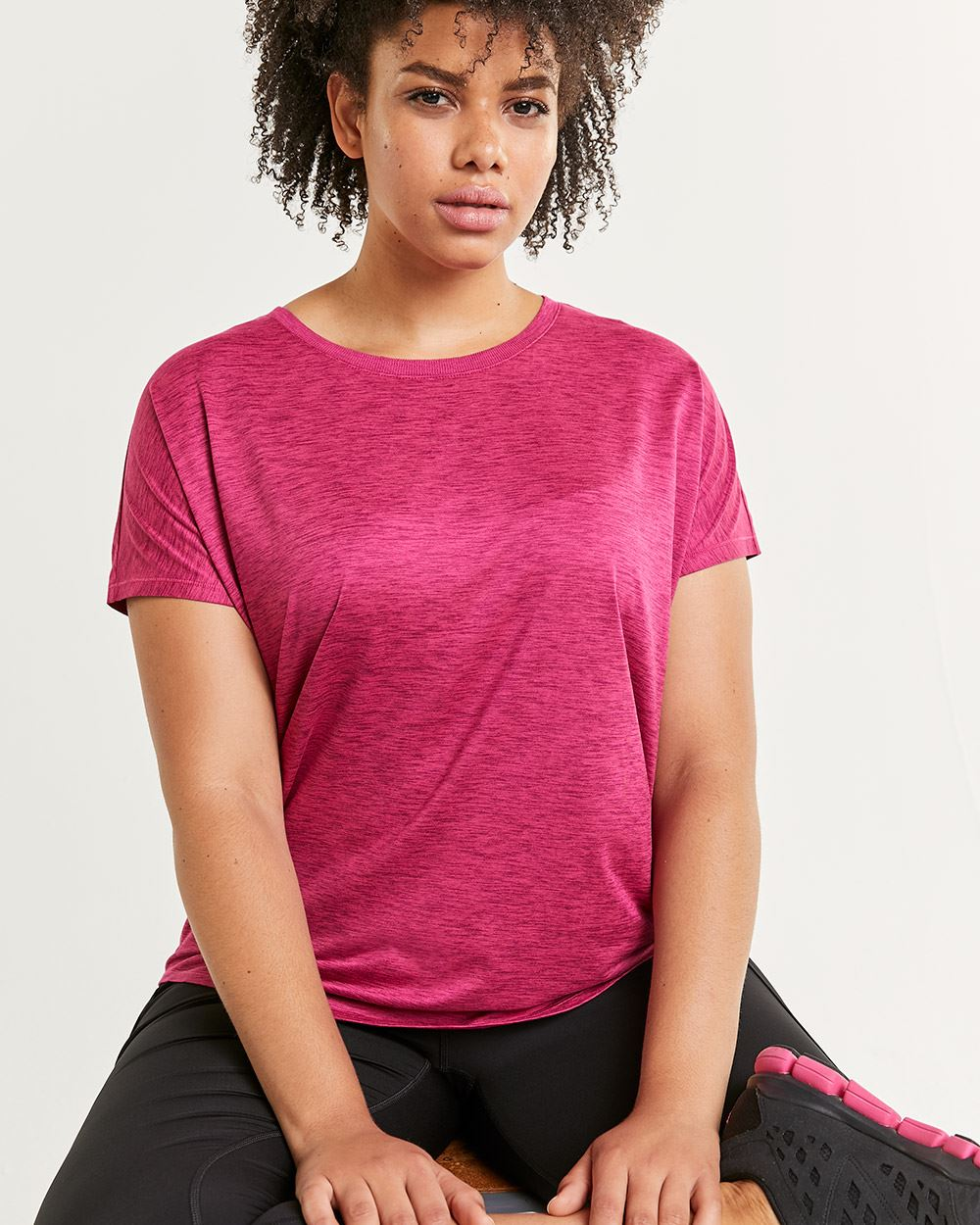 Short Sleeve Crew Neck Tee Ultra Soft Hyba