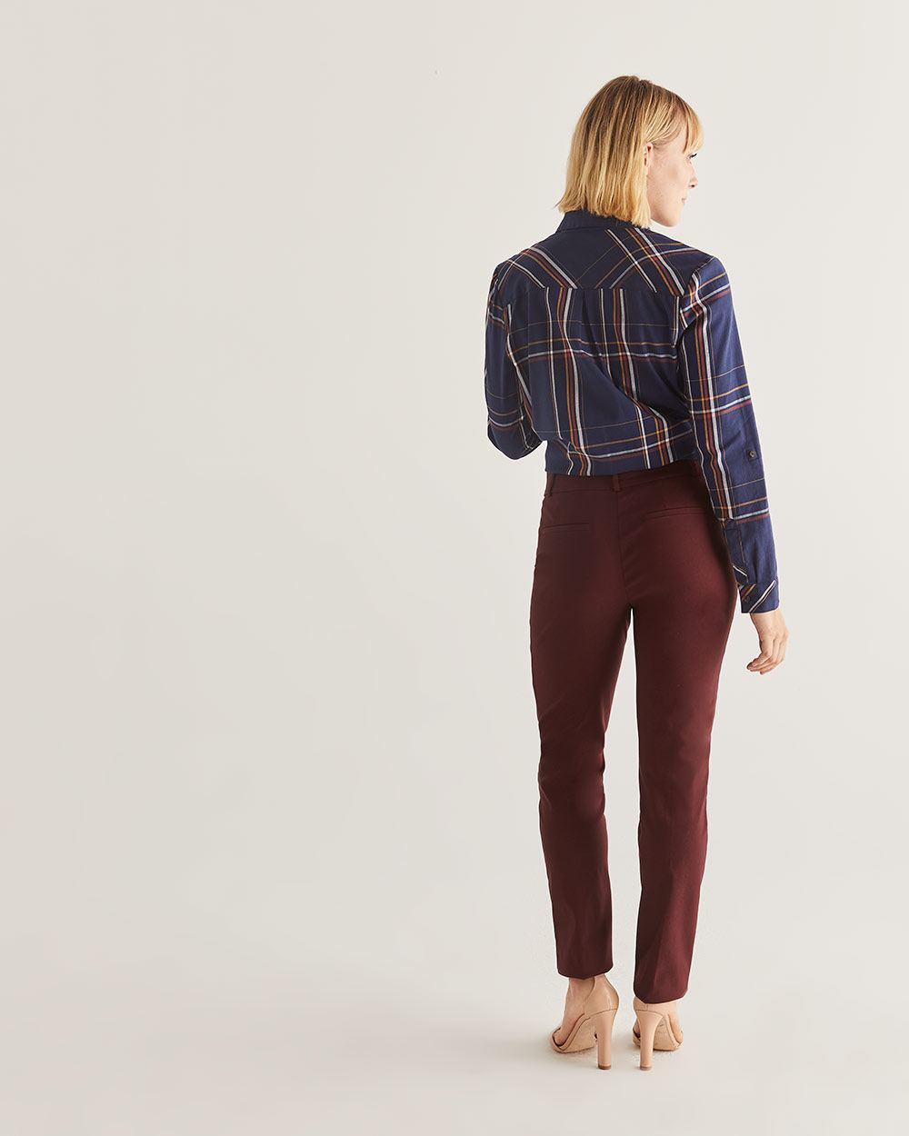 The Iconic Straight Leg Coloured Pull-On Pants - Tall