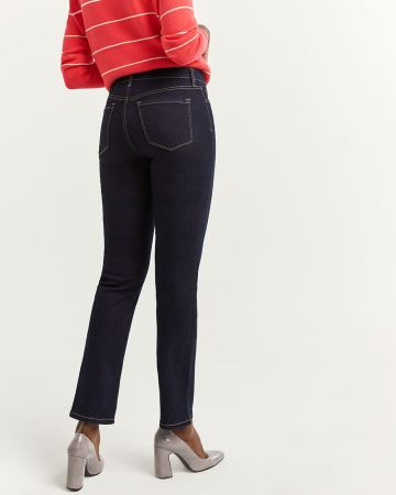 The Insider Straight Leg Jeans - Petite