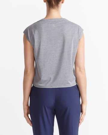 Hyba Cropped Pocket T-Shirt