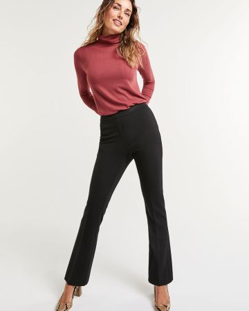 Bootcut Pull On Pants The Modern Stretch