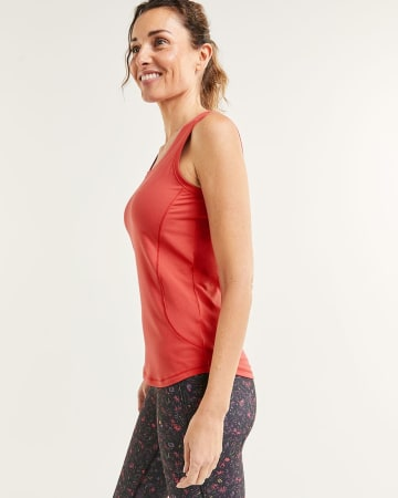 Sleeveless Crew Neck Ultra Soft Tank Hyba