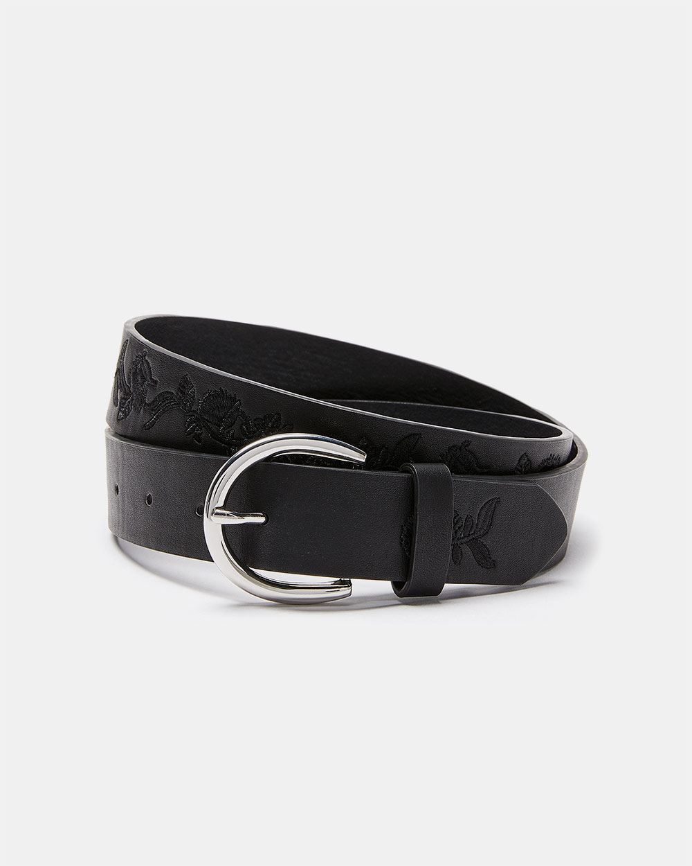 Tonal Embroidery Belt