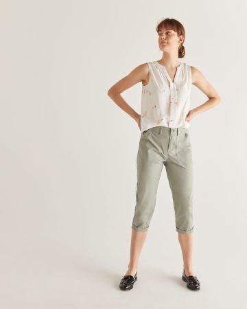 77b24aea445759 Women's Capris & Cropped Dress Pants & Trousers | Reitmans Canada