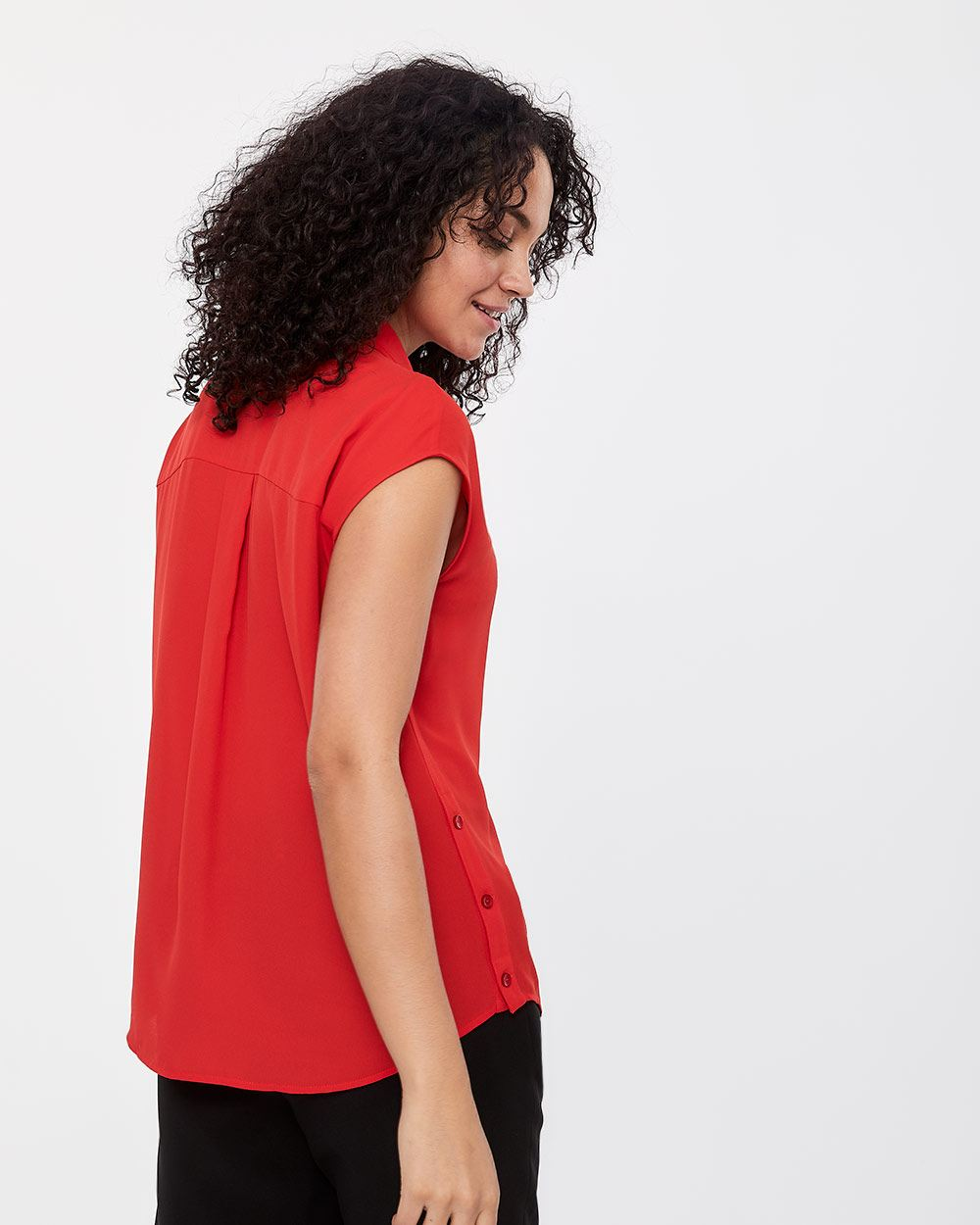 Willow & Thread Cap Sleeve Blouse