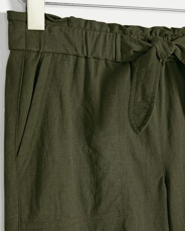 Half-Sash Shorts with Pockets